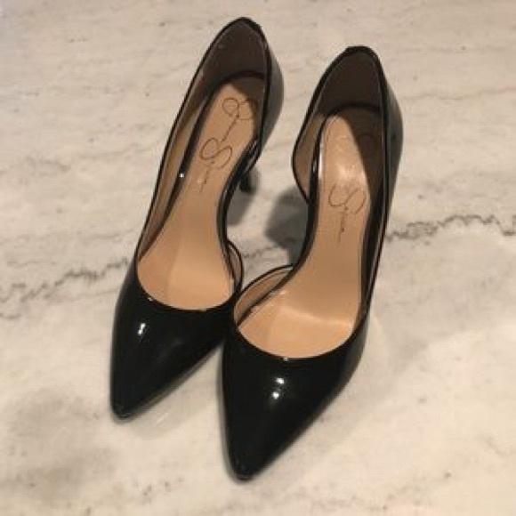 2d5bb185a7 Jessica Simpson Shoes - Jessica Simpson Patent Leather Pumps